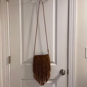 Handbags - Brown fringe bag